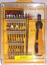 Jackly 32 Pieces PC Tool Kit Magnetic Screw Driver For Mobile, Computer, Laptop