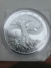 10 oz 999 Silber Silbermünze Tree of Life 50 CAD Kanada The Great 2017
