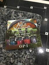 OPI Alice In Wonderland Mini Set~Nail Polish lacquer~Mad As A Hatter~4 X 1/8 oz.