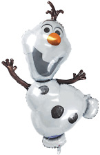 "Disney Frozen Olaf Shape 41"" Foil Balloon Official Anagram Amscan Kids Party Toy"