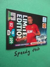 Champions League 2013 Limited edition Persie Manchester Panini Adrenalyn 13 14