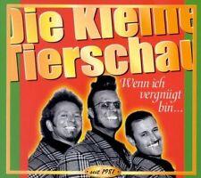 DIE KLEINE TIERSCHAU - WENN ICH VERGNÜGT BIN...  CD NEU