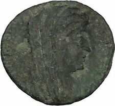 CONSTANTINE I the GREAT Cult  Heaven Horse Chariot Ancient Roman Coin i44797