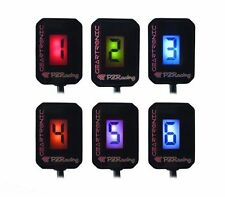 GT300 UNIVERSAL GEAR INDICATOR PZRACING MULTICOLOR FOR ALL TYPES OF MOTORCYCLES