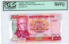 Scotland … P-123a … 100 Pounds … 1995 … *AU-UNC* PCGS 58 PPQ-Commemorative.