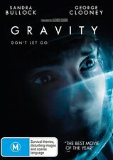 GRAVITY - George Clooney / Sandra Bullock - DVD - FAST & FREE DELIVERY
