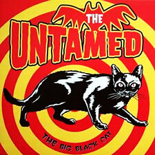 """THE UNTAMED The Big Black Cat 7"""" . garage horror rockabilly the cramps lord sutc"""