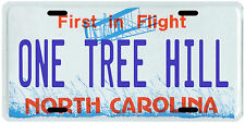 One Tree Hill North Carolina License plate