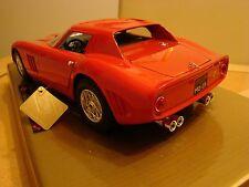 1/18 FERRARI 250 GTO 3.0 LITRI V12 COUPE 1964 versione stradale RARA