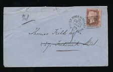 SCOTLAND 1870 POSTED SINCE 10.30 LAST NIGHT DUPLEX...1d RED Pl.132 MISPERFORATED