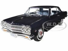 1965 CHEVROLET CHEVELLE MALIBU SS L79 DANUBE BLUE 1/18  LTD 558pc ACME A1805302
