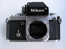 NIKON F2 PHOTOMIC SILVER BODY SERIAL NO. F2 7697648 WITH DP-1 FINDER