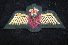CANADIAN CANADA AIR FORCE RADIO OPERATOR ? WING ON GREEN FELT QC