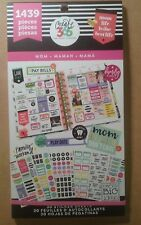 """NEW! me & my big ideas create 365 """"MOM"""" Value Pack Stickers"""