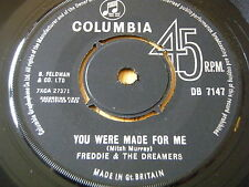 "FREDDIE & THE DREAMERS - YOU WERE MADE FOR ME     7"" VINYL"