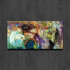 MODERN ABSTRACT LARGE WALL ART OIL PAINTING ON CANVAS (With Framed)