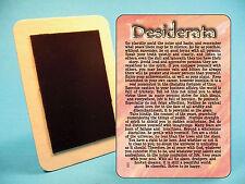"""""""Desiderata"""" Poem - Refrigerator Magnet - Sku# 633"""