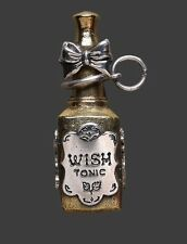 Waxing Poetic REMEDY IN A BOTTLE Pendant WISH TONIC ***RARE***