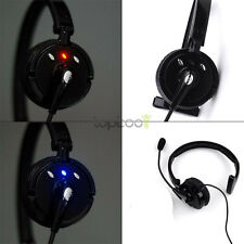 PS3 Trucker Noise Cancelling Over the Head Boom Mic Wireless Bluetooth Headset