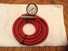 HUMMER H2 AIR HOSE WITH GAUGE / GM ON BOARD AIR INFLATOR Fast Shipping!