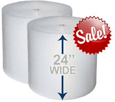 "24"" WIDE 3/16"" x 350' Ft Bubble Wrap Roll Small Bubbles (HIGH QUALITY) 700 SQFT"