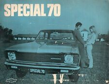 Chevrolet Special Sedan 1970 South American Leaflet Sales Brochure