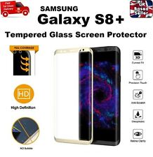 Full 3D Coverage Tempered Glass Screen Protector for Samsung Galaxy S8 PLUS GOLD