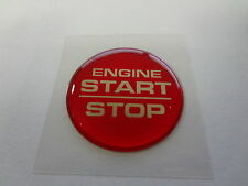 Challenger Keyless Go Starter Push Start Button Emblem Decal Engine Start Stop