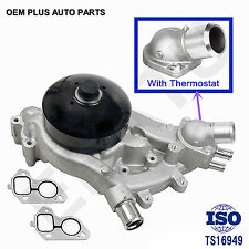 New Water Pump for GMC Chevy Cadillac Hummer 4.8L 5.3L 6.0L 6.2L Thermostat