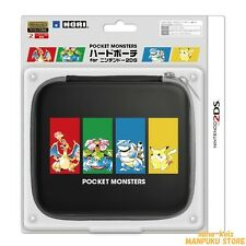 HORI Nintendo 2DS Pokemon Pocket Monsters Hard Pouch from JAPAN F/S tracking