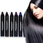 Pro Non-toxic Temporary Hair Color Chalk Pencil Dye Soft Pastels Salon DIY Kits
