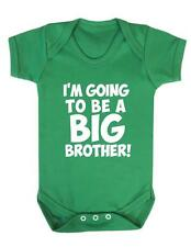 "Baby Grow "" I'm going to be a BIG Brother "" Family Baby Play suit / Bodysuit"