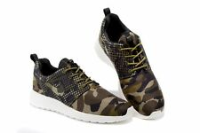Nike Roshe One Print Alligator Green Camo 655206-303 Men's Shoes sz 12