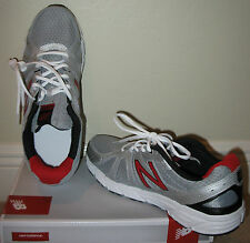 Mens New Balance Gray & Red Running Course M450SB2 Sneaker Shoes SIZE 10.5