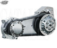 "Ultima 2"" Open Belt Drive Pld School Belt Drive for Harley Primary (IN STOCK!)"