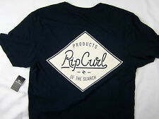 Rip Curl surf Tailor Fit premium fit soft T-shirt men's blue size SMALL