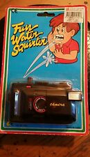"""Fun Water Squirter""  Vintage Camera Portable"