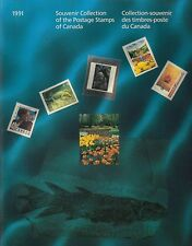 1991 CANADA  scarce ANNUAL COLLECTION STAMPS stamps mint