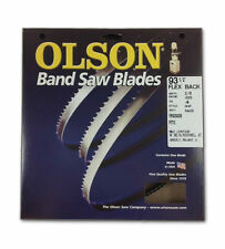 "Olson 19293 Band Saw Blade 93-1/2"" Long x 3/8"" Wide .025"" Thick 4 TPI"