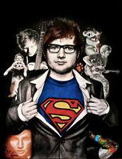 """05 Ed Sheeran - English Singer Songwriter Music Art 14""""x18"""" Poster"""