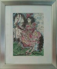 Woman on Horseback II, Pablo Picasso Lithography Museum Glassed/Framed with COA