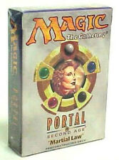 Martial Law Portal Second Age - Theme Deck - ENGLISH - Sealed New - MTG ABUGames
