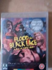BLOOD AND BLACK LACE  BLU-RAY & DVD COMBO ORIGINAL NEW REGIONS A/B /1/2