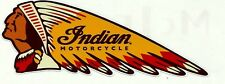 INDIAN MOTORCYCLE GAS GARAGE SERVICE STATION VINYL STICKER / DECAL NEW CHOPPER !