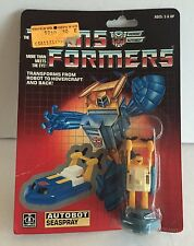TRANSFORMERS VINTAGE OLD AUTOBOT SEASPRAY 1985 1984 TAKARA HASBRO JAPAN NEW RARE