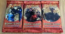 3-Pack Lot Magic the Gathering MTG Born of the Gods 15-cd Booster Pack English