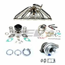 REV9 FITS SKYLINE RB25 GTS GTT R32 R34 T3 T67 TOP MOUNT TURBO SET UP KIT 500HP
