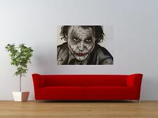 JOKER DARK KNIGHT HEATH LEDGER BATMAN GIANT ART PRINT PANEL POSTER NOR0653