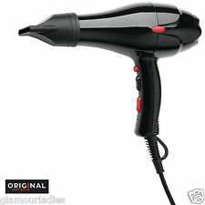 Professional Hair Dryer Dreox Original Best Buy 2000 Watts Black Semi Compact