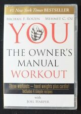 YOU: The Owner's Manual Workout (DVD) ~ Drs. Roizen & Oz    NEW